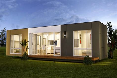prefab storage container homes in modern mad home interior