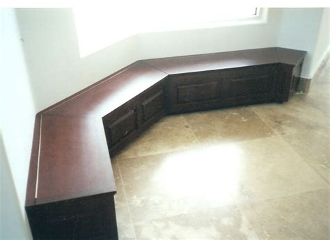 custom made banquette seating kitchen breakfast or dining room banquette bench booth or