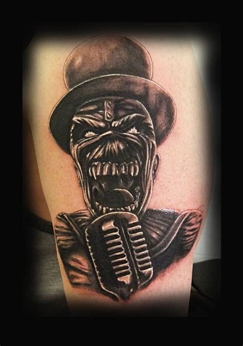 iron tattoo iron maiden eddy iron maiden