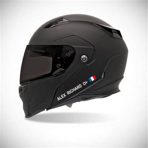 Sticker Auf Motorradhelm by Autocollant Stickers Casque De Moto Identit 233 Groupe