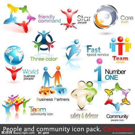 free design never tell the world 团队人物企业logo设计矢量图 网页小图标 标志图标 矢量图库 昵图网nipic com