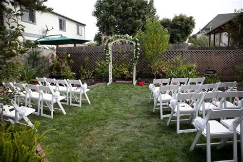 how to set up a backyard wedding 17 best ideas about small backyard weddings on pinterest backyard weddings backyard