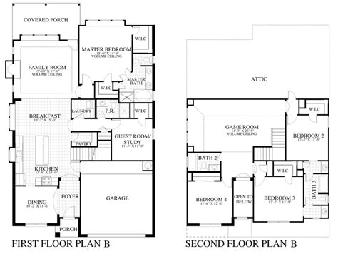 saratoga homes floor plans plan 2885b saratoga homes austin