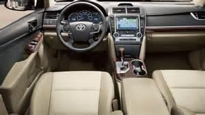 2014 Toyota Camry Interior Automotivetimes 2014 Toyota Camry Review