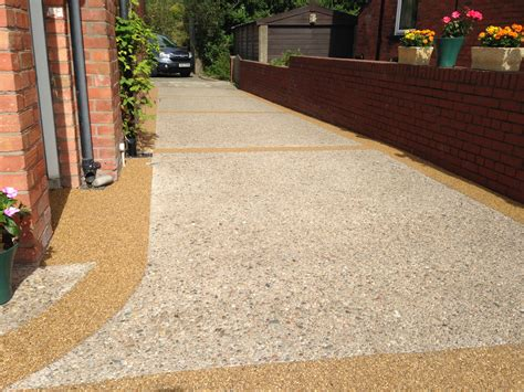 new resin bound gravel driveway surface mid kent laid surface solutions ni ltd
