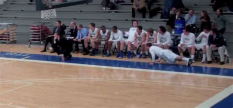 colby college bench celebrations this college team have turned bench celebrations into an art form epic viral hoops