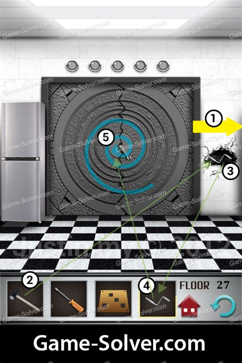 cheats for 100 floor game 100 floors level 27 game solver