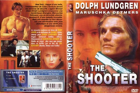 the the shooter jaquette dvd the shooter