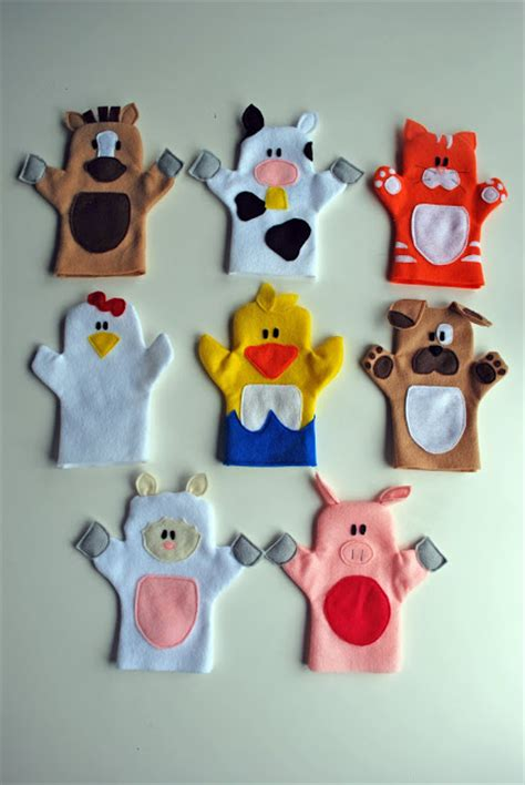 links with free finger puppet patterns felt with