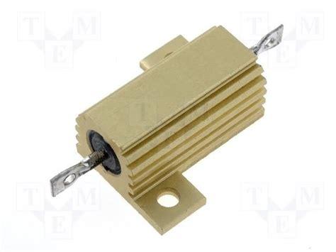 arcol resistors hs25 hs25 r68j arcol resistor wire wound with heatsink 680mω 25w 177 5 hs25 0r68j tme