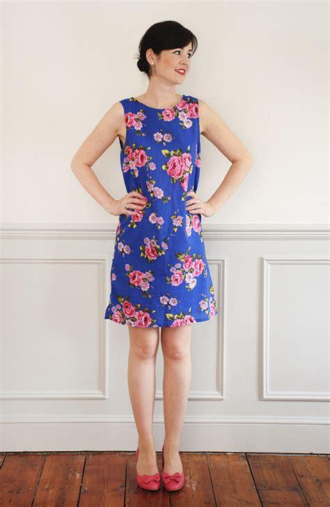 sew   ultimate shift dress sewing pattern sew