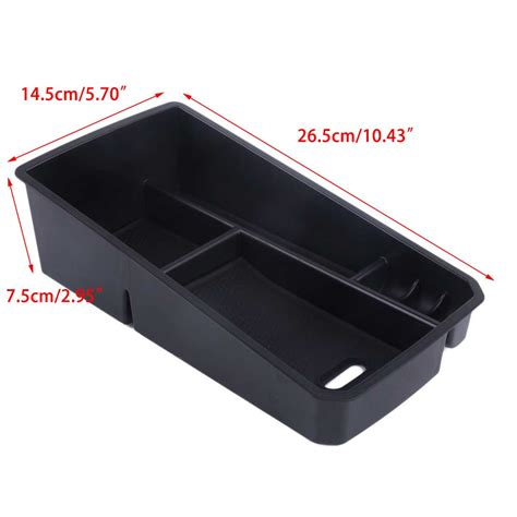 rubber st storage containers new car secondary armrest organizer tray storage container