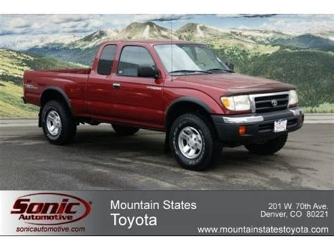 Toyota Tacoma Weight 2000 Toyota Tacoma V6 Trd Extended Cab 4x4 Data Info And