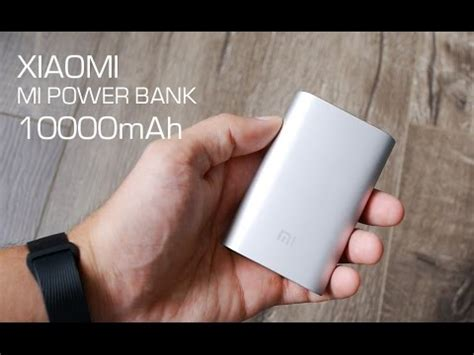 Power Bank Mi 8800mah обзор xiaomi mi power bank 10000mah