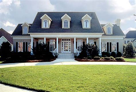 country colonial house plans colonial country farmhouse house plan 85454 farmhouse plans car garage and colonial