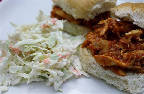 barbecue chicken sandwiches with cole slaw recipe dishmaps