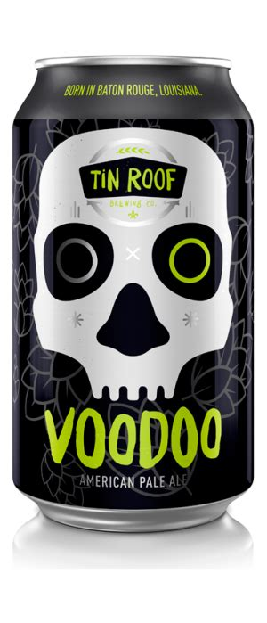 tin roof ale abv tin roof brewing company voodoo pale ale just