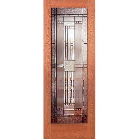 Interior Slab Door With Glass Builder S Choice 32 In X 80 In 32 In Clear Pine 15 Lite Interior Door Slab Hdcp151528