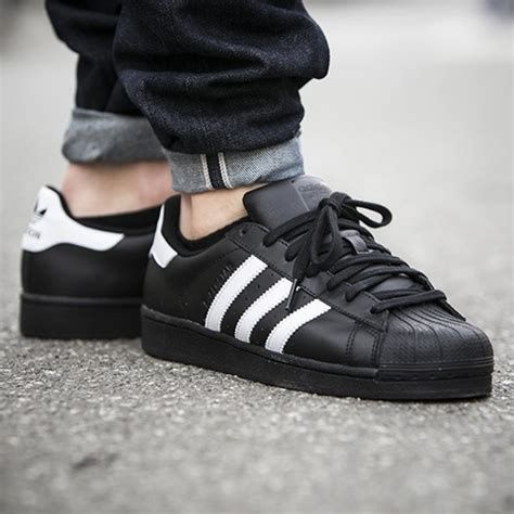 Adidas Originals Black adidas originals superstar b27140 black white