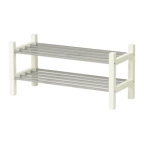 ikea shoe rack storage tjusig shoe rack white ikea