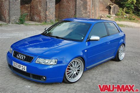 Audi A3 Motor L by Dezenter Auftritt Audi S3 8l Blau Und Schlicht Audi A3