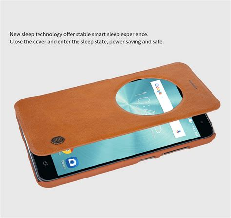 Flip Leather Cover Inspire 360 Exclusive Series new nillkin qin smart window leather flip cover for