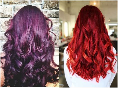 hair colors pictures 60 burgundy hair color ideas maroon purple plum