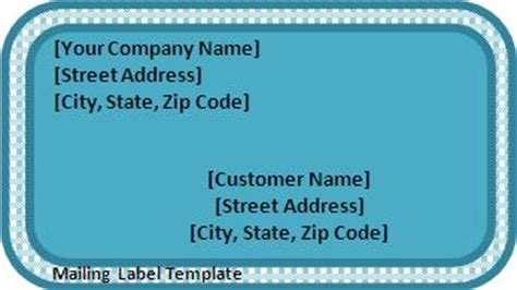 package address label template label templates archives templates