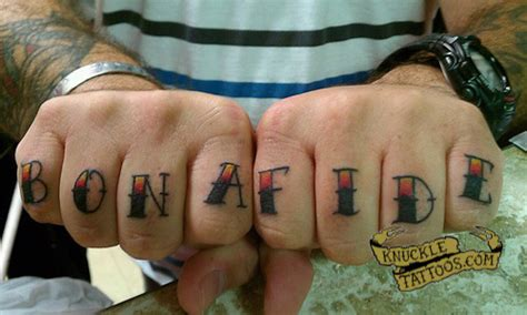 latin knuckle tattoo reflectioneternal your profile name is now bona fide