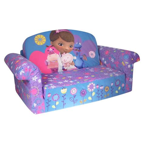 spin master marshmallow furniture flip open sofa doc