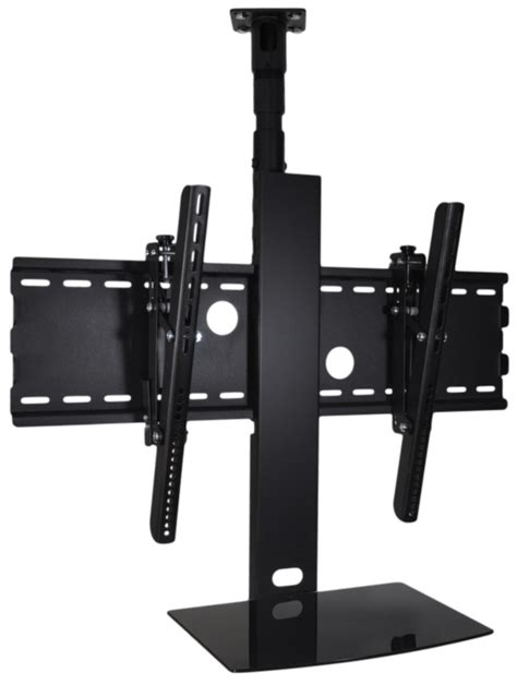 tv ceiling mount with shelf for 32 to 70 with adjustable mast
