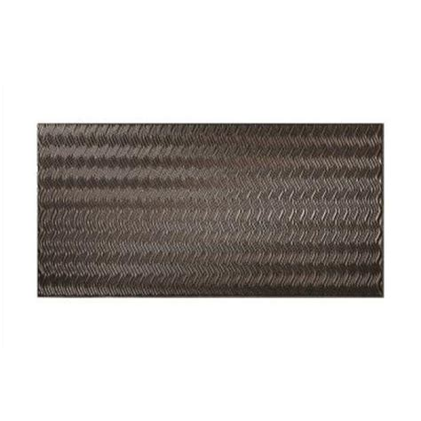 Decorative Wall Panels Home Depot Fasade Current Vertical 96 In X 48 In Decorative Wall Panel In Smoked Pewter S68 27 The Home