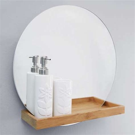 mirror shelf bathroom elements bathroom mirror with shelf dunelm