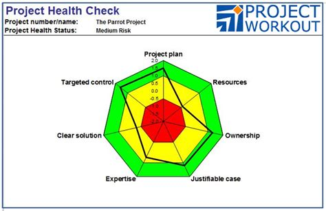 Project Health Check Report Template Workstream Project Workout