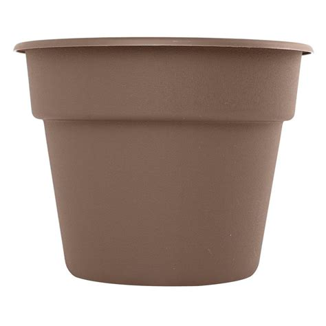 Plastic Planters Home Depot by Bloem 20 In Curated Dura Cotta Plastic Planter Dc20 18