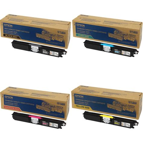 Toner Kk by Epson Toner Rainbow Pack Cmy 1 600 Pages K 2 700 Pages