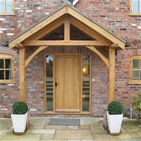 Front Door Canopies Uk Bespoke Green Oak Porch Front Door Canopy Handmade In