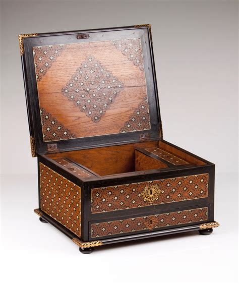 Cabinet Veritas by Auction 70 Lot 40 An Indo Portuguese Traveling Cabinet