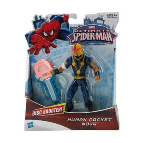 Figure Marvel Heroes 4 Mainan Anak Anak jual marvel ultimate spider human rocket figure harga kualitas