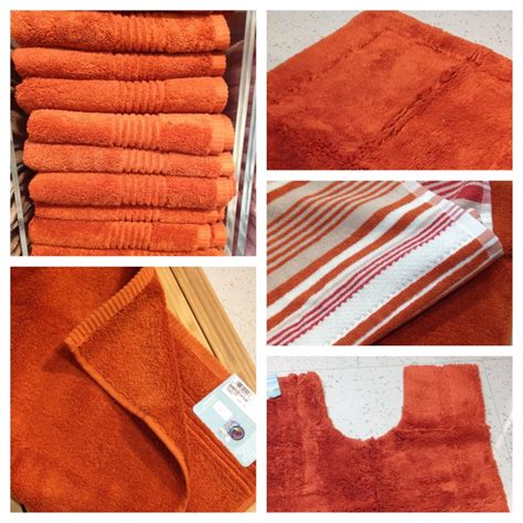 Bathroom Rugs Rust Color So Many Towels And Not Enough Bathrooms Homeware
