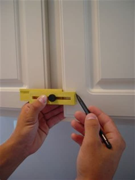 safety level and kitchen cabinet hardware placement trim gauge the multi purpose tool gallery