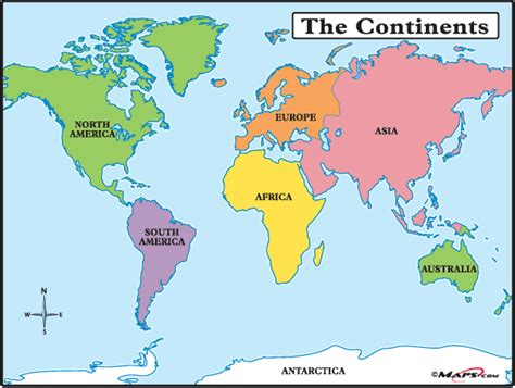 map world continents maps101 world the continents