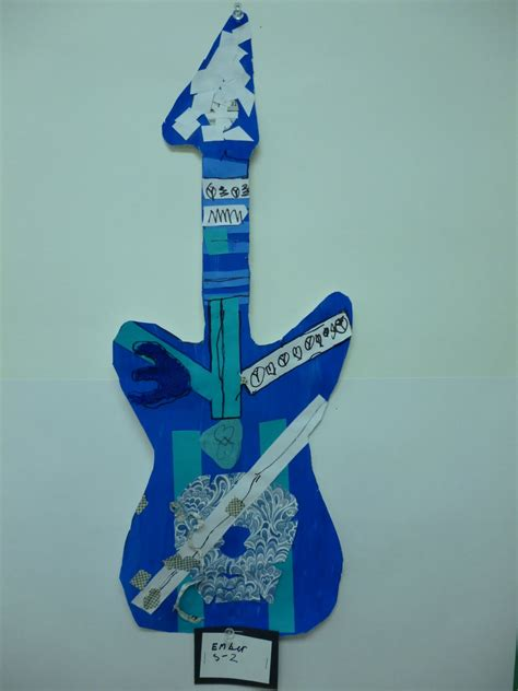 picasso paintings blue period guitar picasso s blue period meets guitar meets collage