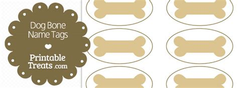 printable dog bone gift tags bones printable treats com