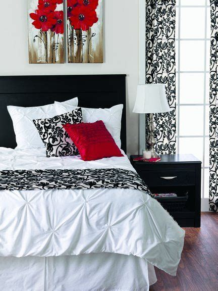 best 25 red bedrooms ideas on pinterest attractive romantic red and black bedrooms with best 25
