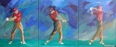 swing batter up swing batter down golf art the official website of tom patri