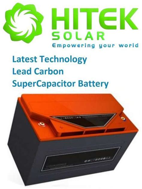 how to use a supercapacitor as a battery 12v 70ah lead carbon supercapacitor lcs pb c battery hitek solar nz