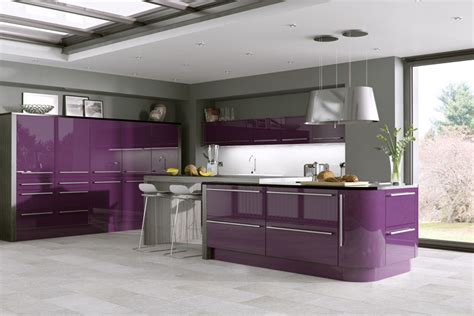 odyssey aubergine cambridge kitchen doors