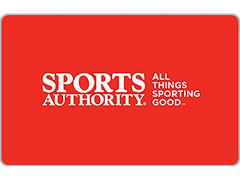 Sport Authority Gift Card - sports authority 10 gift card email delivery newegg com