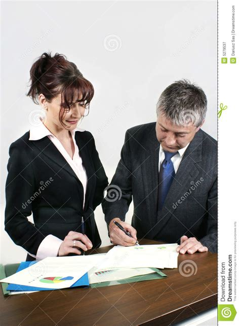 More New Are Working by Business Working Royalty Free Stock Photography